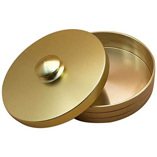 Tester Mechanical Watch Mire el reloj limpio del cilindro de la taza de cobre Reloj de pulsera de cobre Herramienta de limpieza de aceite Lavar la taza de lavado de la olla de almacenamiento Herramien