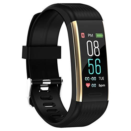 Gjyia Podómetro Fitness reloj con contador de pasos, contador de calorías, rastreador de sueño,