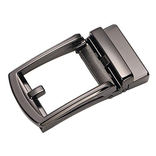 #N/A Hebilla de Correa de trinquete o Correa de Cuero cinturón de Cuero Hebilla automática de aleación de Metal de Repuesto - Estilo 3