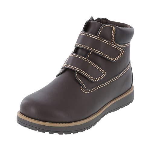 Smartfit Boys/' Toddler Daniel Dress Strap Shoe Black WIDE
