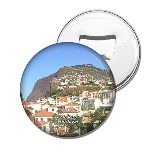 Weekino Portugal Pico Fort Madeira Bier Flaschenöffner Kühlschrank Magnet Metall Souvenir Reise Gift