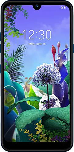 LG Q60 Smartphone (15, 9 cm (6, 26 Zoll) LC-Display, 64 GB interner Speicher, 3 GB RAM, MIL-STD-810G, Dual-Sim) Maroccan Blue