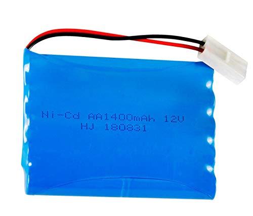 12v 1400mah AA batería Recargable para RC Barco Coche Juguetes iluminación faclities Juguetes de Control Remoto eléctrico 12V batería SM-2P