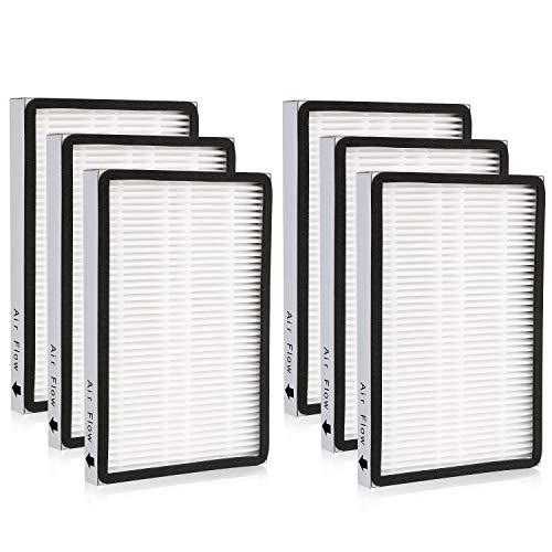 Cabiclean 6-Pack 86889 HEPA Filters for Sears Kenmore Vacuums & Panasonic Uprights Vacuums