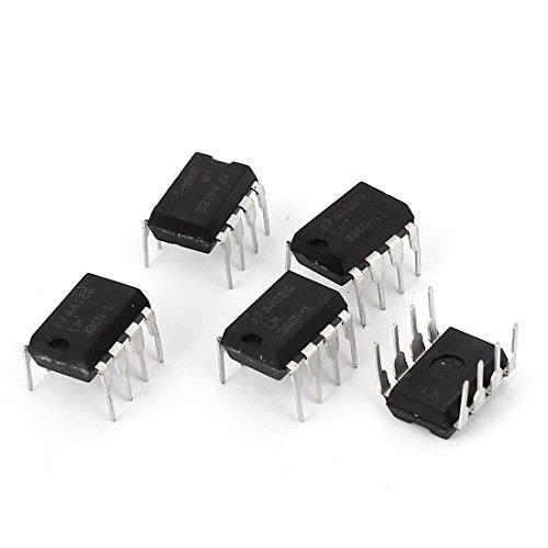 Dip IC LM386N-1 - Lote de 5 amplificadores para Radio Am-FM con 8 Pines