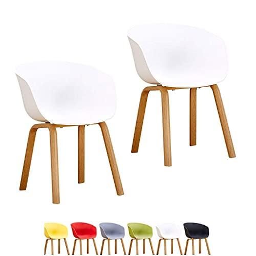 WYBW Inicio Silla de comedor, sillas Asientos grandes Sillas de comedor Mostrador de maquillaje resistente Sala de estar Sillón de recepción Cocina Dormitorio Taburetes de salón Diseño de curva moder