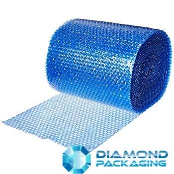 Diamond Packaging - Rollo de papel de burbujas antiestático (500 mm x 100 m), color azul Ideal para proporcionar protección física en tránsito por electrostática envío rápido
