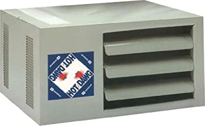 Modine HD45AS0111Natural Gas Hot Dawg Garage Heater 45,000 BTU with 80-Percent Efficiency