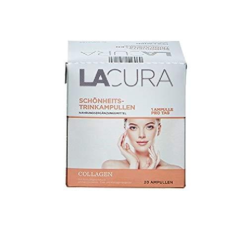 LACURA Collagen Schönheits Trinkampullen 20 Ampullen Nahrungsergänzungsmittel