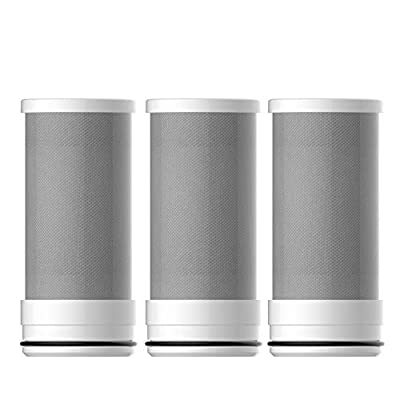 Waterdrop Replacement Filters for ACF Faucet Filtration System, Reduces Lead, Fluoride and More, Last Up to 18 Months (Pack of 3)