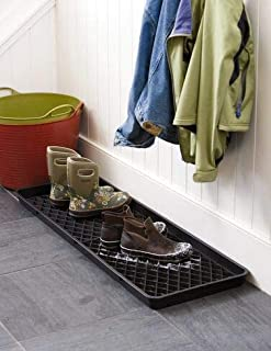 Gardener's Supply Company Large Boot Tray with Drip Grids
