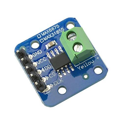 Monllack MAX31855 K Typ Thermoelement Breakout Board Lesbares Temperatursensormodul für Arduino -200 ° C bis +1350 ° C Out L