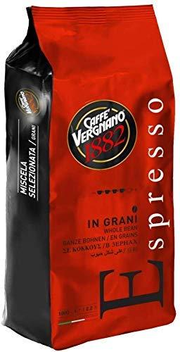 6 Kg Caffè Vergnano Espresso Grani. Vigoroso e Crema Invitante. Coffee Beans Espresso.