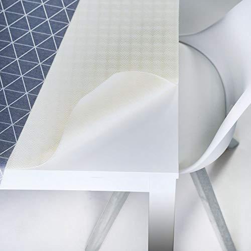 LILENO HOME Tischpolster Tischdeckenunterlage Tischunterlage Molton mit Vlies-Rückseite Soft Protect nach Wunschmaß Größe 140 x 100 cm