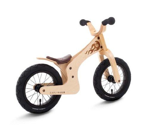 Streetsurfing Kinder Lauflernrad Early Rider Lite, Natural, Rahmenhöhe: 30.48 cm, Reifengröße: 12 Zoll (30 cm), 1200