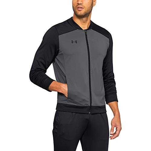 Under Armour Men's Challenger II Track Jacket , Graphite (040)/Black , 3X-Large