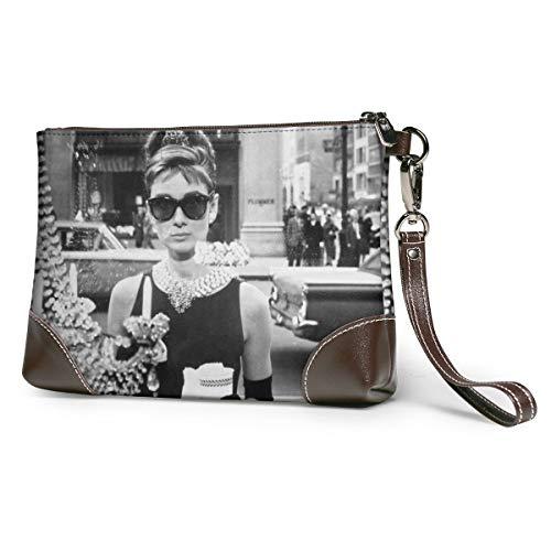 Audrey Hepburn Weiche Leder Handtaschen, kleine klassische Taschen, große Portemonnaie, Clutches, Kosmetiktaschen, Kosmetik-Käfig, Reisetaschen, Kosmetik Clutches