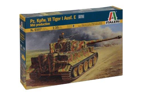 Italeri 510006507 - 1:35 IT WW2 Panzerkampfwagen VI Tiger I Ausführung E
