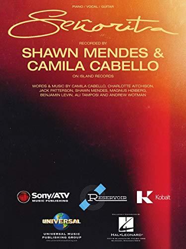Shawn Mendes,Camila Cabello-Señorita-Piano, Vocal and Guitar-BOOK