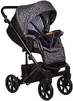 Baby Merc Travel Sistem Bebek Arabası Mosca Dark Grey, Siyah