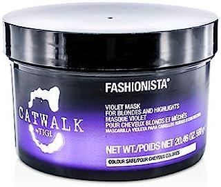 Tigi Catwalk Fashionista Violet Mask (for Blondes And Highlights) 580g/20.46oz by TIGI