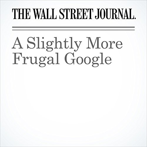 A Slightly More Frugal Google cover art