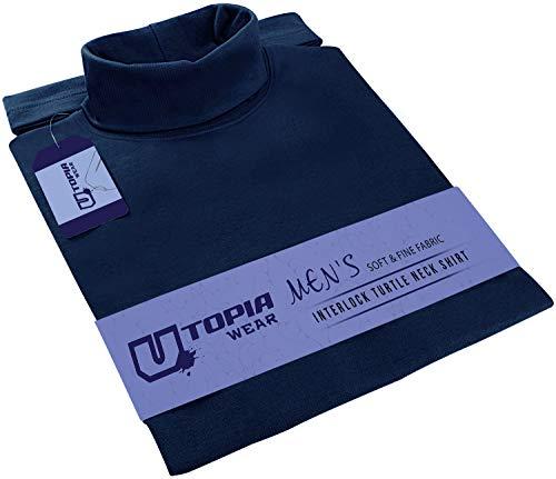 Utopia Wear Chemise Habillée - Homme - Bleu - XX-Large