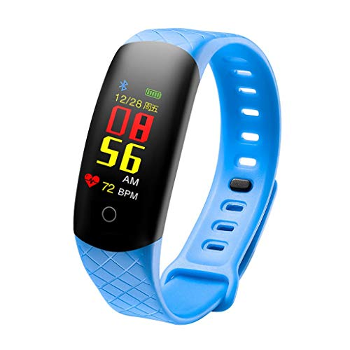 Smart Watch S2 Fitness Tracker, Wasserdicht IP67 Fitness Armband mit Pulsmesser 0,96 Zoll TFT-Bildschirm Smartwatch Aktivitätstracker Pulsuhren Schrittzaehler Uhr Fitness Uhr für Damen Herren
