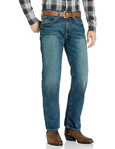 ARIAT Men's M3 Loose Boundary Stackable Straight Leg Jean Gulch Size 42W X 36L