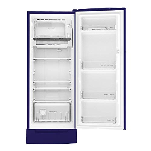 Whirlpool 215 L 5 Star Inverter Direct-Cool Single Door Refrigerator (230 IMPRO ROY 5S INV SAPPHIRE ABYSS, Sapphire Abyss) 5