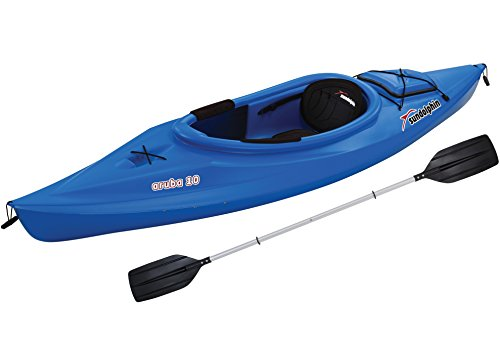 SUNDOLPHIN Aruba Sit-in Kayak (Citrus, 10-Feet)