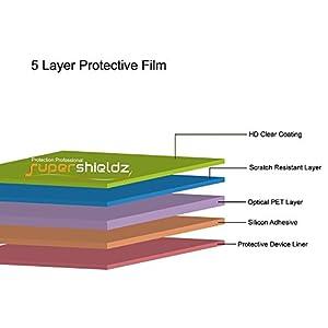 (3 Pack) Supershieldz for Digiland 7 inch Tablet (DL7006-KB, DL718M, DL721-RB) Screen Protector, High Definition Clear Shield (PET)