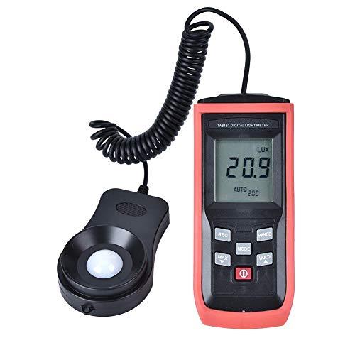 Misuratore di luce digitale, luxmetro portatile, fotometro con misuratore di illuminamento 0~100.000Lx