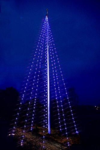 Best Season, Catena Luminosa LED di Ricambio, per Asta portabandiera Flagpole Lightchain