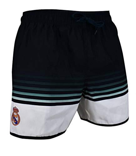BAÑADOR Real Madrid Home Nº 2 INF Negro/Blanc