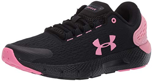 Under Armour GS Charged Rogue 2, Zapatillas para Correr Unisex Adulto, Negro (Black/Lipstick/Lipstick), 38 EU