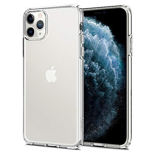 Spigen Cover iPhone 11 PRO Max Liquid Crystal Progettato per Apple iPhone 11 PRO Max Custodia - Crystal Clear