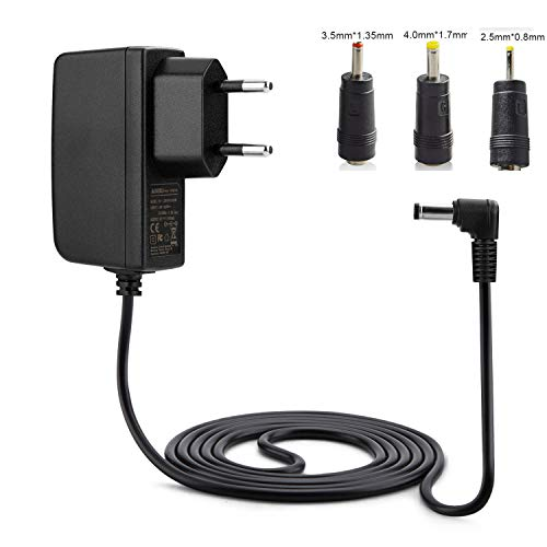 Aukru 5V 2A Netzteil Ladegerät mit 3x DC Buchse 2,1 x 5,5 mm für LED Streifen WLAN Boxen Router D-Link DIR-100 DIR-300 DIR-600 DIR-615 DIR-645 DIR-655 DI-604
