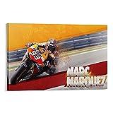 Sports MotoGP - Póster deportivo para habitación de los hombres (20 x 30 cm)
