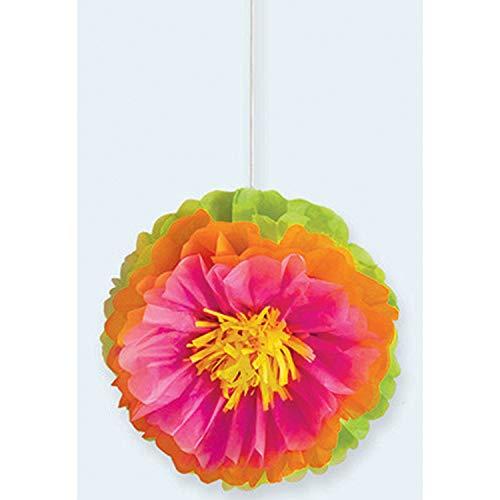 3 Deko-Hänger Fluffy Hibiscus Flower