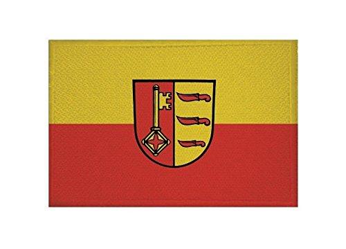 U24 Aufnäher Dischingen Fahne Flagge Aufbügler Patch 9 x 6 cm