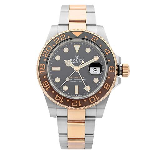 Rolex GMT-Master II 126711Rootbeer, due tonalità di colore, oro rosa, in...