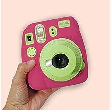 Camera Case Compatible Fujifilm Instax Mini 8 / Mini 8+ / Mini 9 Instant Camera, Instax Mini 9 Case, Instax Case, Instax Mini 8 Case,(Hot Pink)