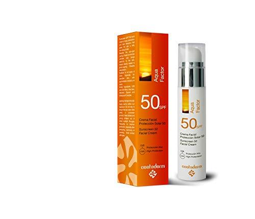 AQUA FACTOR 50 - Protección solar facial SPF50 UVA/UVB. 50 ml.