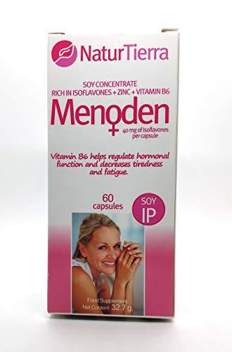SUPLEMENTO MENOPAUSIA - MENODEN + VITAMINA B6 Y ZINC –