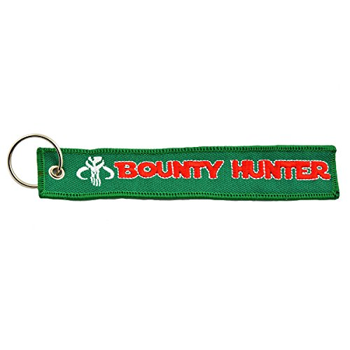 Apex Imports Mandalorian Boba Fett Bounty Hunter Remove Before Flight Style Key Chain 5.5' x 1 Motorcycle ATV Car Truck Keychain