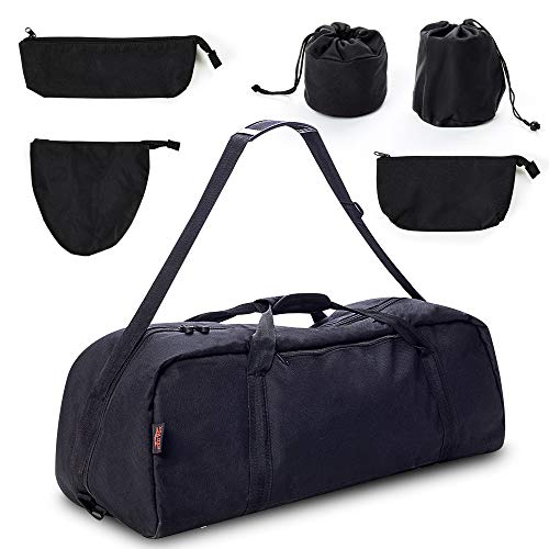 Celestron 127eq Powerseeker Telescope Carrying Case for Travel | Red Fox Padded Telescope Carrying Bag fits Celestron 127eq Powerseeker and Orion 0979