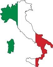 WickedGoodz Italian Flag Italy Refrigerator Bumper Magnet - Perfect Italian Gift