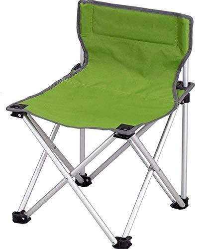 Klappstuhl Lehnstuhl Fischen-Stuhl Multifunktionale tragbare Camping-Stuhl ohne Armlehnen Leichter Durable Tragetasche Bergsteigen Abenteuer Wandern LITING (Color : C)