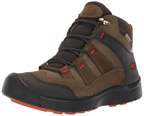 KEEN Unisex-Kid's HIKEPORT MID WP Hiking Boot, Martini...